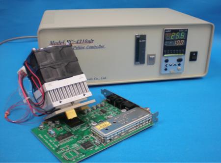 コンタクト型温度印加システム